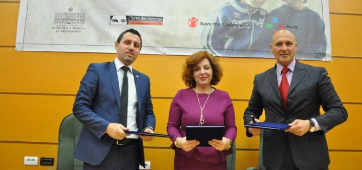 Joint Declaration of Albania, Montenegro and Kosovo focusing child trafficking